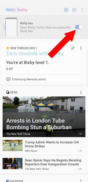 Como Desativar o botão Bixby no seu Samsung
