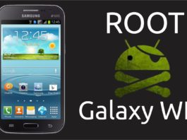 ROOT no Galaxy WIN