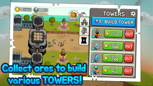 Grow Tower Castle Defender TD