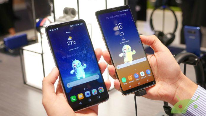 LG V30 ou Galaxy Note 8