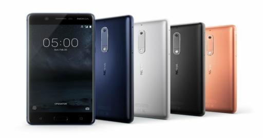 Nokia 3, 5, 6 e 8 obterão atualização para o Android 8.0