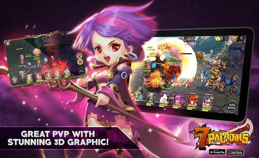 Seven Paladins SEA 3D RPG x MOBA Game
