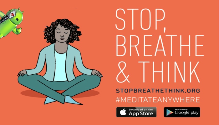 Stop Breathe & Think Meditate