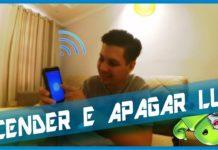 ACENDER e APAGAR lampadas pelo celular