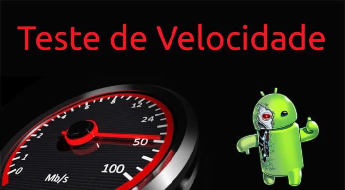 teste de velocidade android