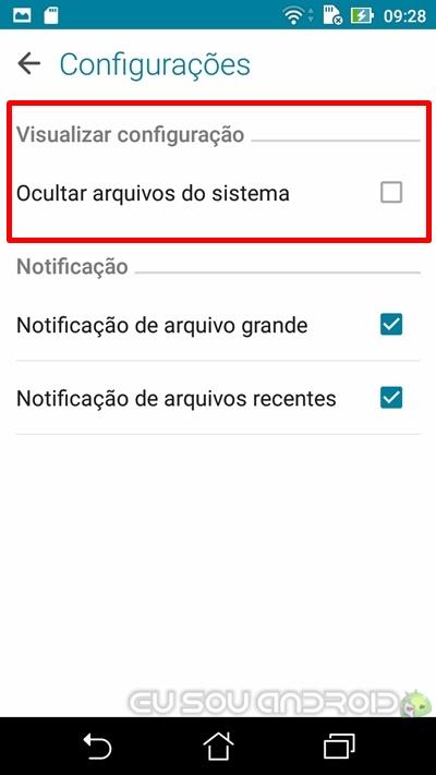 Copiar arquivo Zenfone 3 MAX raiz