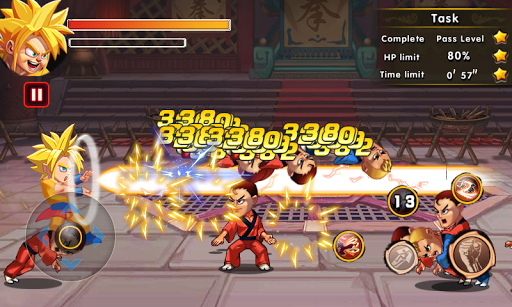 Super Dragon Fighter Combat