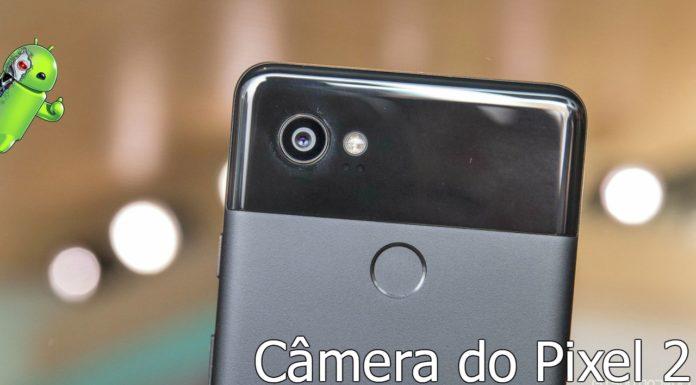 câmera do Google Pixel 2