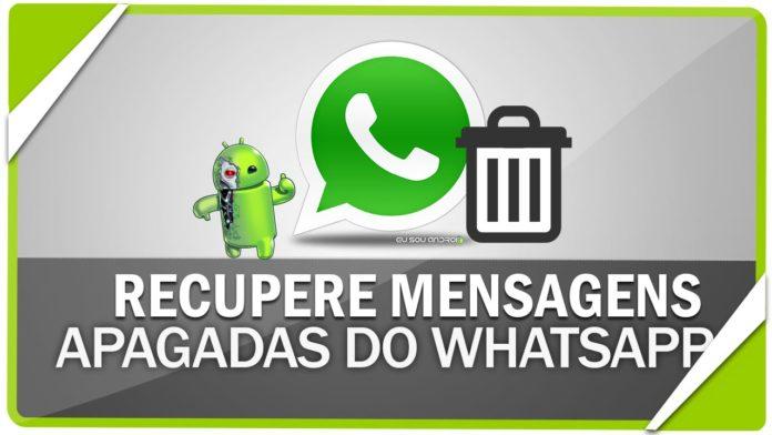 Resultado de imagem para como recuperar mensagem whatsapp