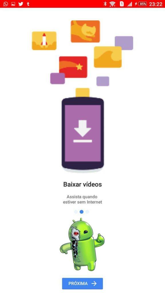 eu sou android youtube go 5