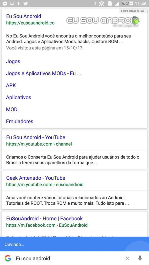 google lite eu sou android