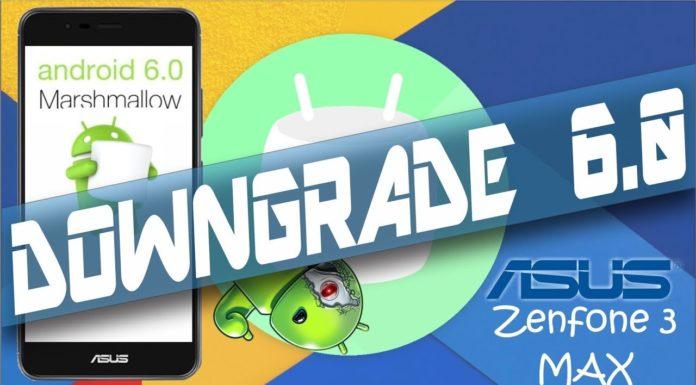 Downgrade Zenfone 3 MAX