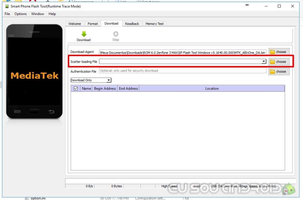 sp flash tools scatter zenfone 3 max