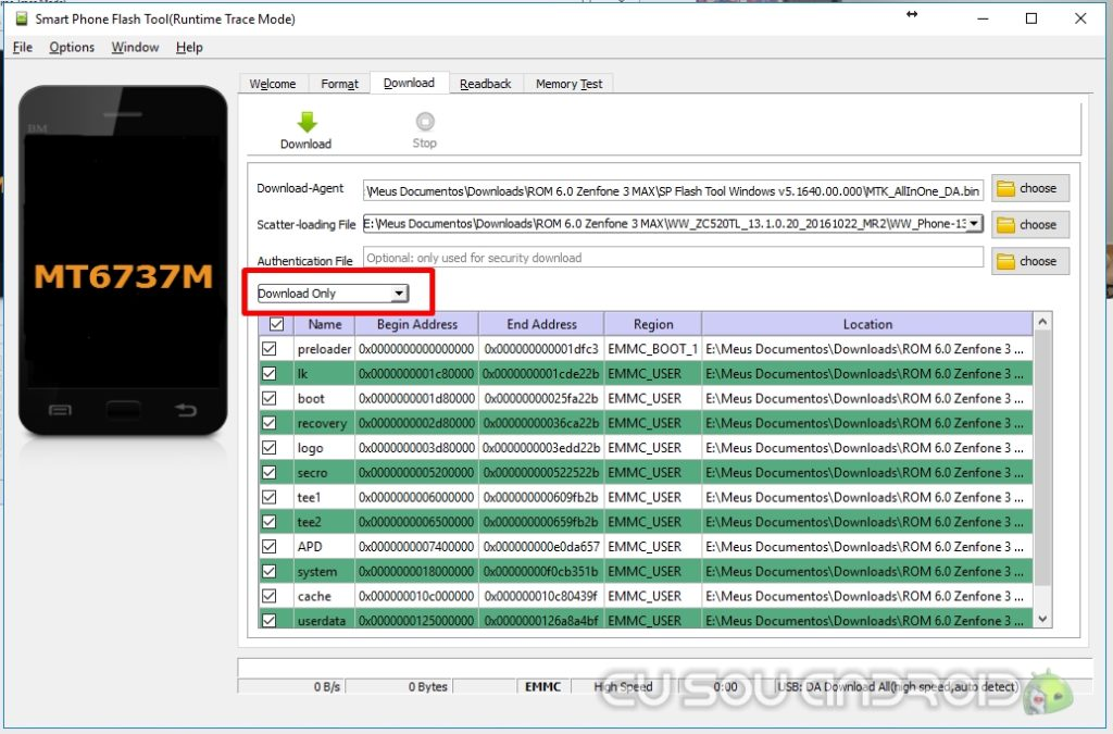 sp flash tools scatter zenfone 3 max download