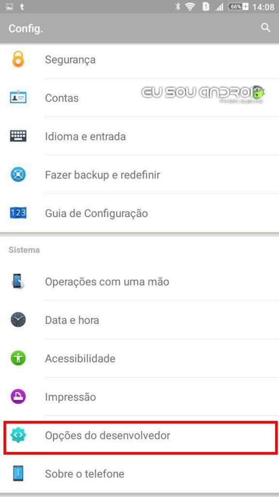 A importância de ativar a Depuração USB no Android eu sou android 1