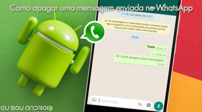 Como Apagar uma Mensagem Enviada no WhatsApp