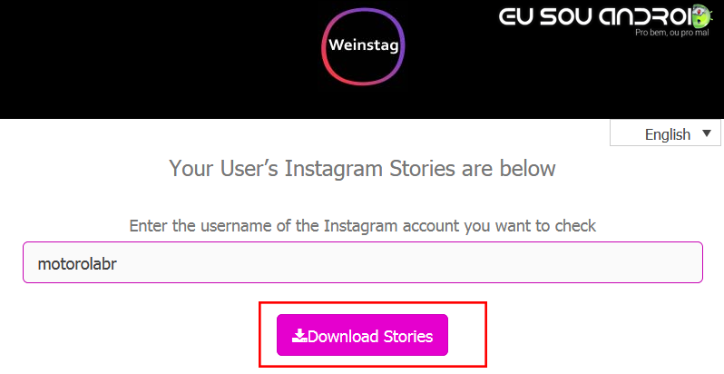 Como Baixar Stories do Instagram 2