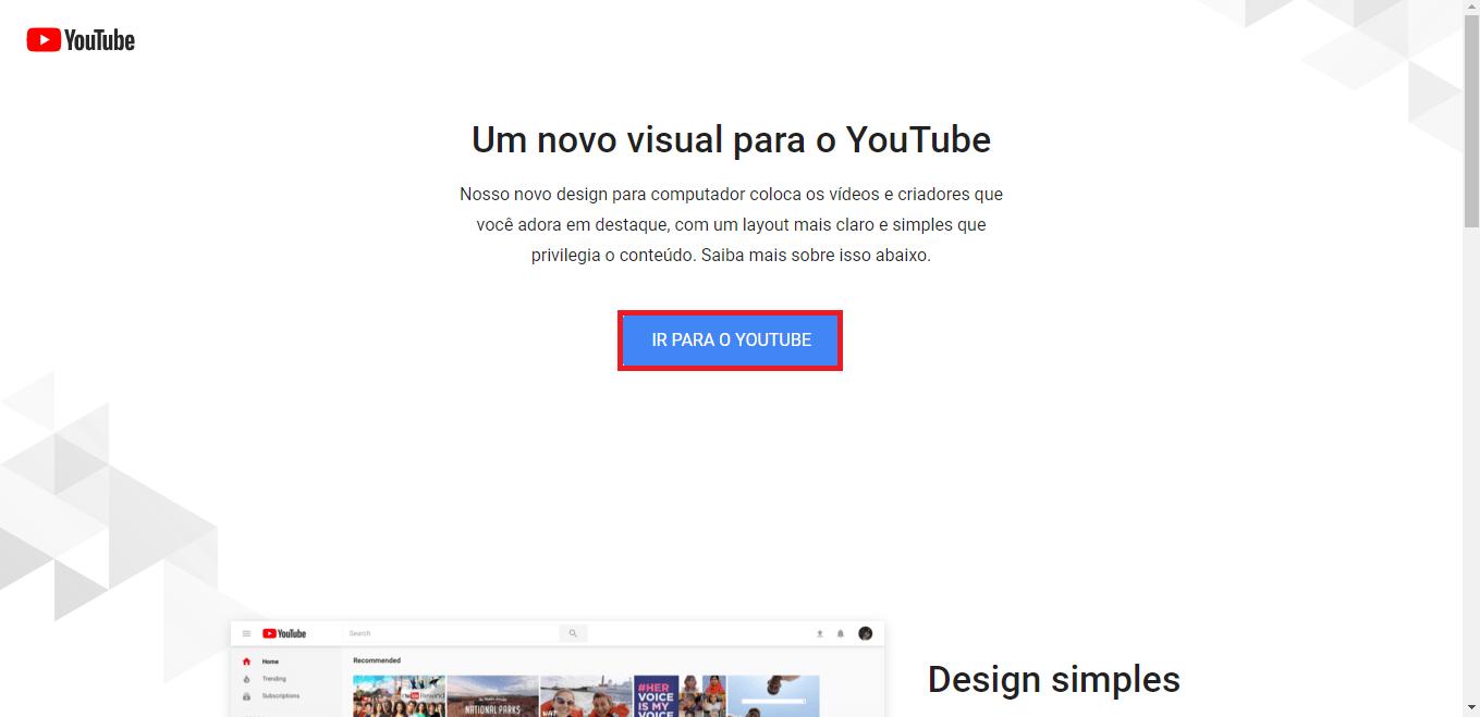 Deixe seu YouTube com o Novo Tema Escuro