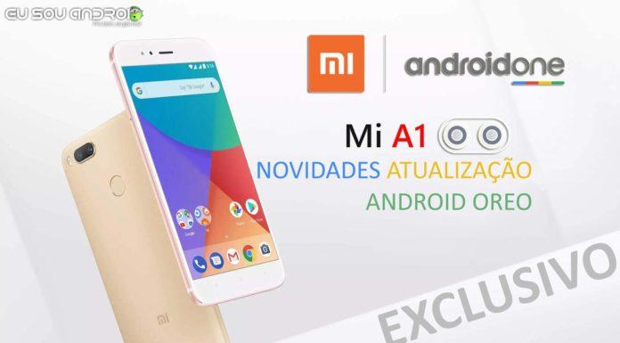 EXCLUSIVO Oreo para Xiaomi Mi A1 está sendo testado!