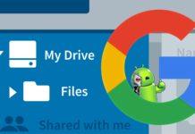 gerenciador de arquivos do Google