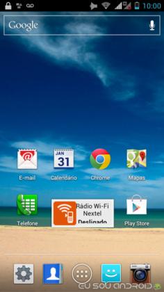 Iron Rock XT626 Android 4.0.4 com iDEN e 3G