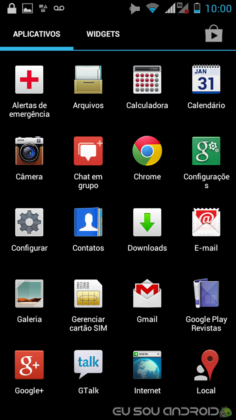 Iron Rock XT626 Android 4.0.4 com iDEN e 3G