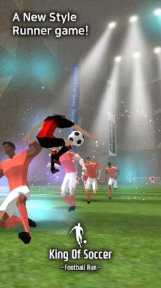 King Of Soccer Football run
