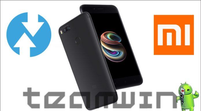 TWRP para Xiaomi Mi A1 e Zefone 4