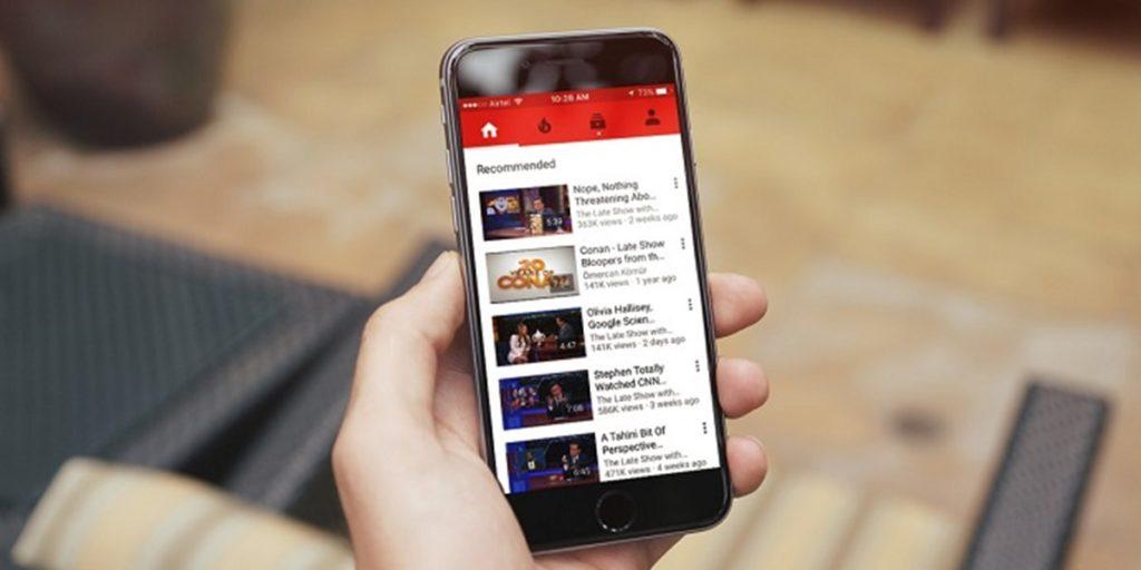 Youtube agora com melhor visualização em telas 18:9