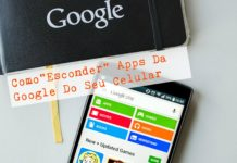 Esconder Apps da Google