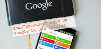 Esconder Apps da Google