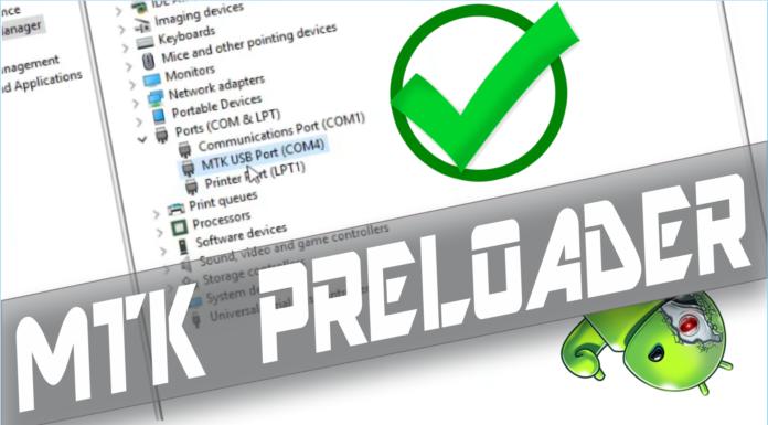 Como Instalar Driver MTK MediaTek Preloader