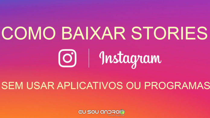 baixar stories do instagram android