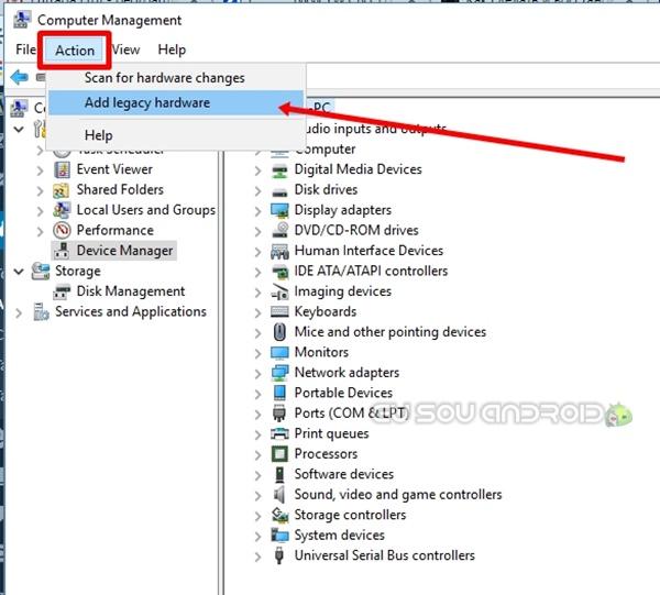 gerenciador de arquivos windows 10 drive legacy
