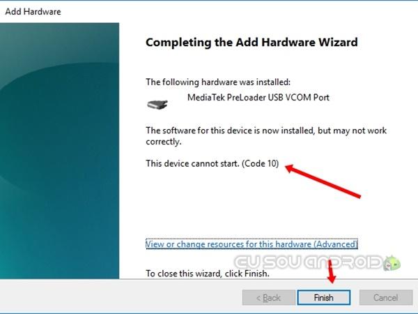 instalar driver preloader mediatek 3