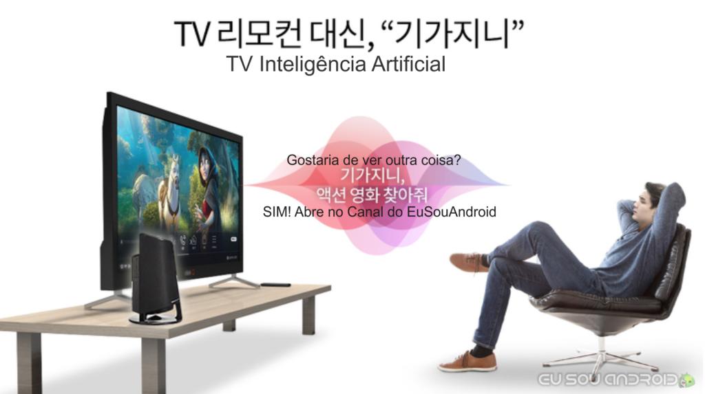tv com inteligência artificial