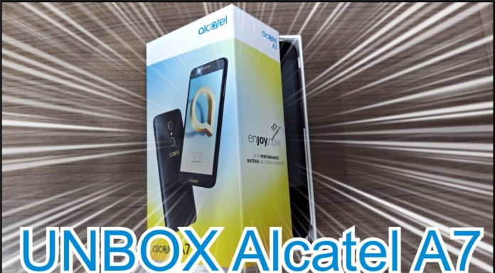 Unbox Alcatel A7