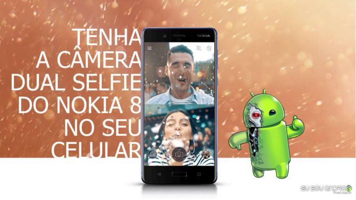 Como Ter O Aplicativo Dual Selfie da Nokia no Seu Celular!