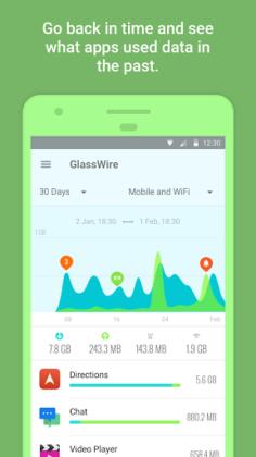 GlassWire – Privacidade Dados