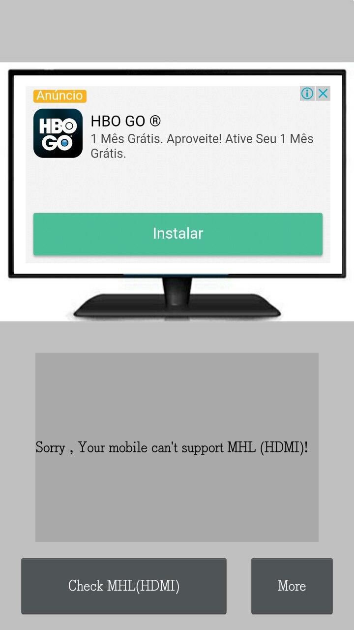 Seu Celular Suporta MHL?