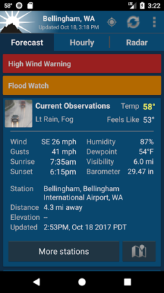 NOAA Weather Unofficial