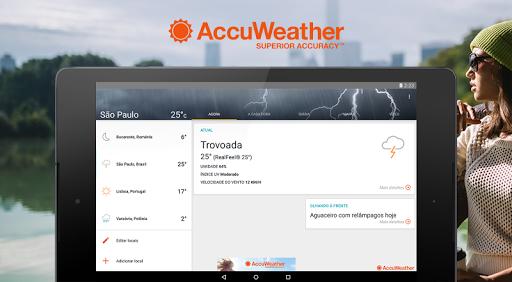 Previsão de tempo de Accuweather