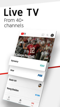 YouTube TV - Watch & Record Live TV