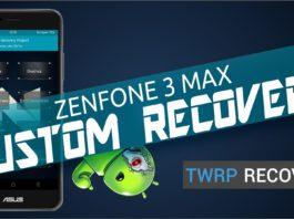 custom recovery zenfone 3 max zc520tl