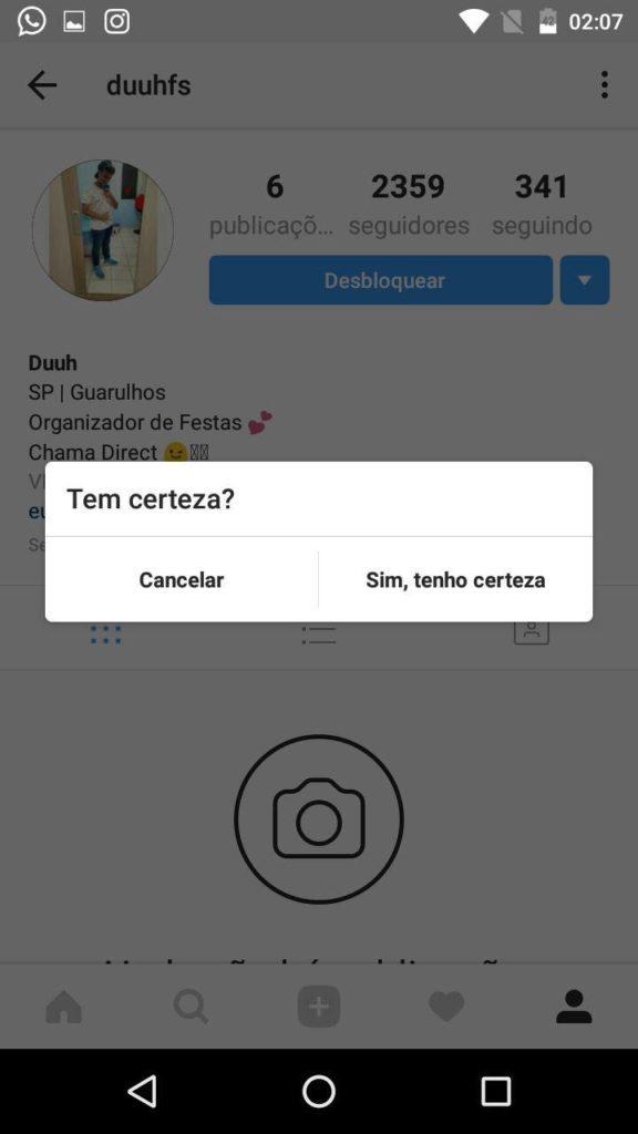 Como Bloquear um Desbloquear um Usuário no Instagram
