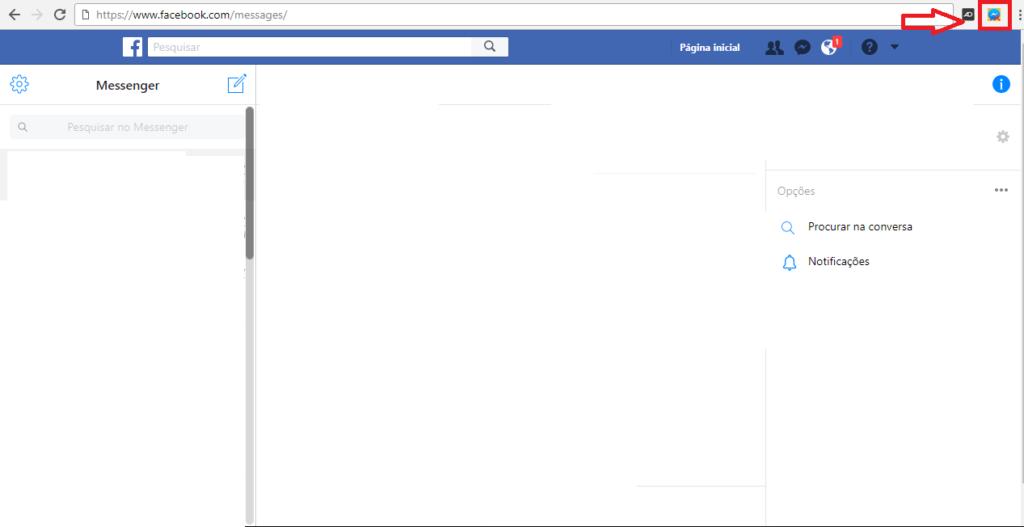 como apagar todas as mensagens do facebook