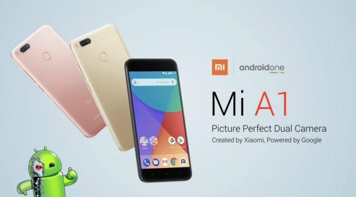 Atualização Oreo para Xiaomi Mi A1
