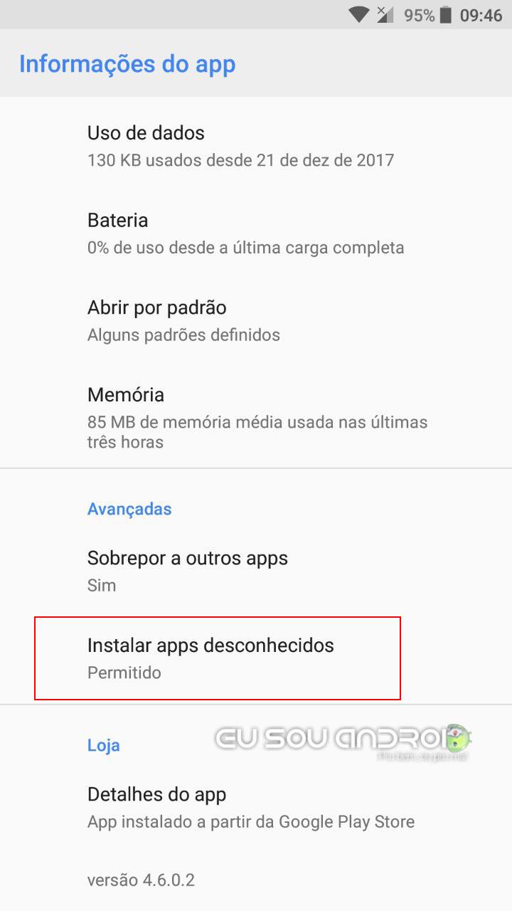 Como Habilitar a Instalação de Arquivos APK no Android Oreo (2)