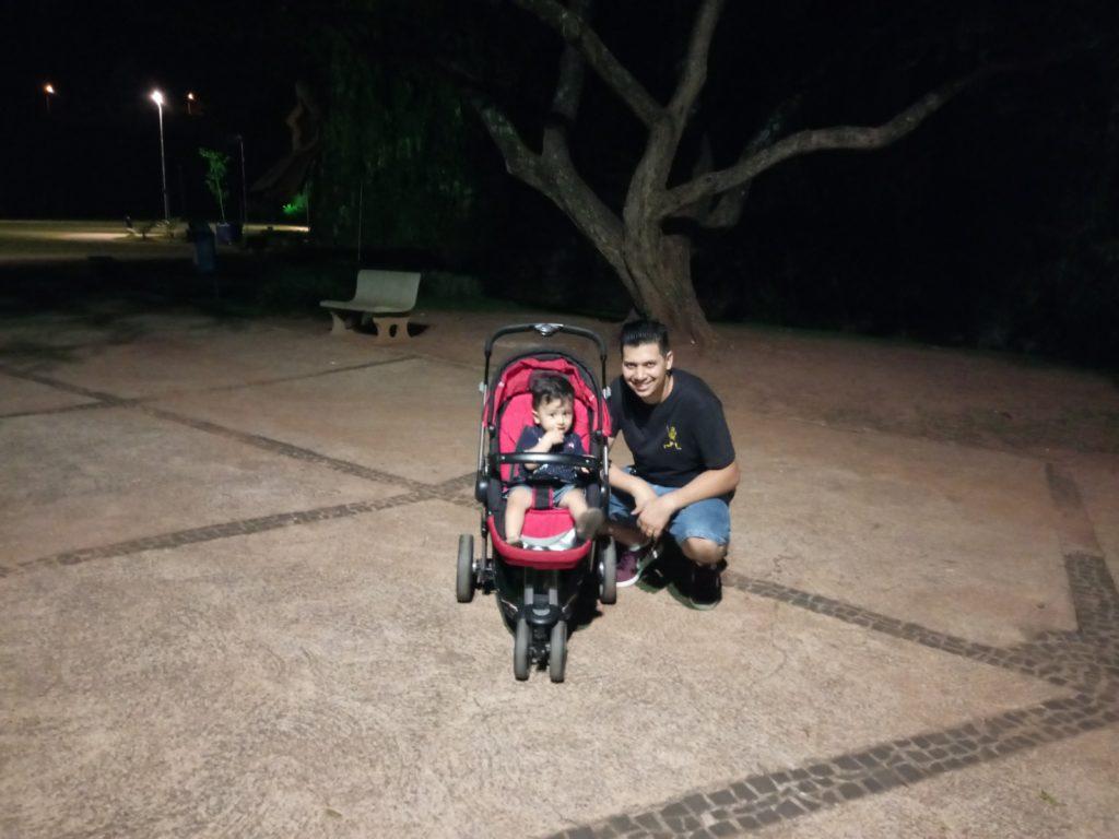Foto Alcatel A7 Baixa luminosidade