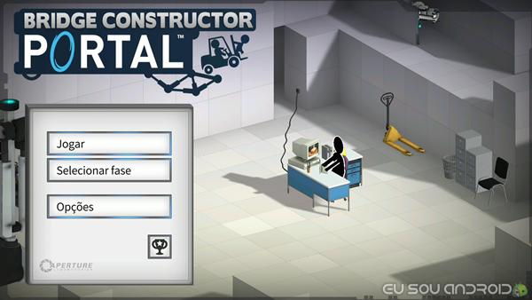 Inicio Bridge Constructor Portal Android